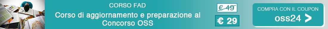Preparati con il corso di aggiornamento e preparazione al Concorso OSS