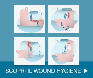 Entra nella sezione dedicata al Wound Hygiene >
